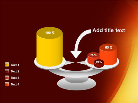 Warm Light PowerPoint Template Slide 10