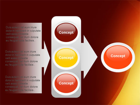 Warm Light PowerPoint Template Slide 11