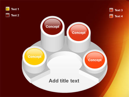 Warm Light PowerPoint Template Slide 12