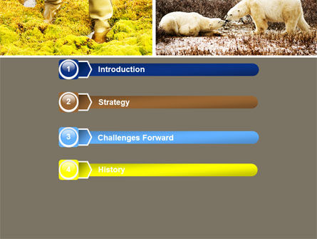 Tundra PowerPoint Template, Slide 3, 05154, Nature & Environment — PoweredTemplate.com
