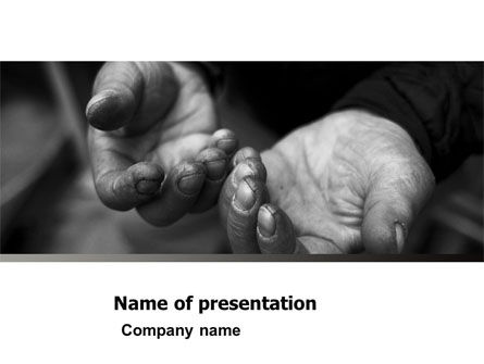 Charity PowerPoint Template, 05156, Careers/Industry — PoweredTemplate.com