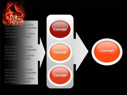 Jazz PowerPoint Template Slide 11