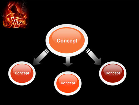 Jazz powerpoint template backgrounds 05158 poweredtemplate jazz powerpoint template slide 4 05158 art entertainment poweredtemplate toneelgroepblik