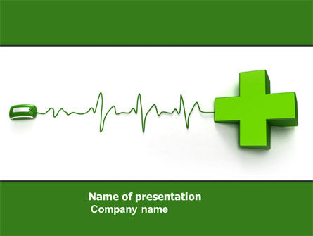 Medical Website PowerPoint Template, 05159, Medical — PoweredTemplate.com