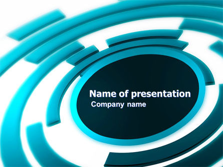 Speaker PowerPoint Template, 05160, Abstract/Textures — PoweredTemplate.com