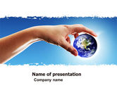 Global: Global Links PowerPoint Template #05162
