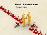 Consulting: Breaking Boundaries PowerPoint Template #05163