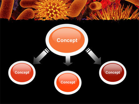 Microbiology Material PowerPoint Template, Slide 4, 05164, Medical — PoweredTemplate.com