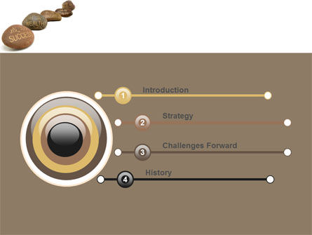 Feng Shui Stones PowerPoint Template Slide 3