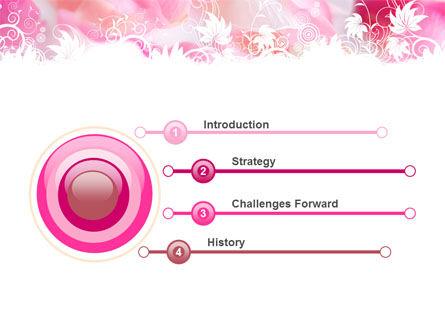 Petals PowerPoint Template Slide 3