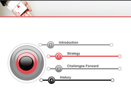 Ace of Hearts PowerPoint Template, Slide 3, 05168, Consulting — PoweredTemplate.com