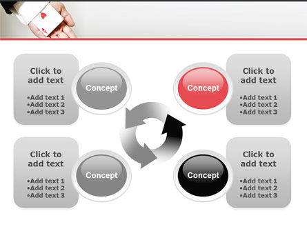 Ace of Hearts PowerPoint Template Slide 9