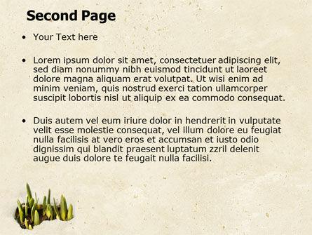 Snowdrop PowerPoint Template, Slide 2, 05170, Nature & Environment — PoweredTemplate.com