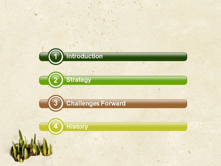Snowdrop PowerPoint Template, Slide 3, 05170, Nature & Environment — PoweredTemplate.com