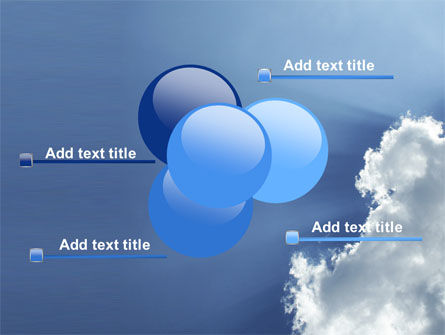 Sunshine Through Clouds PowerPoint Template Slide 10
