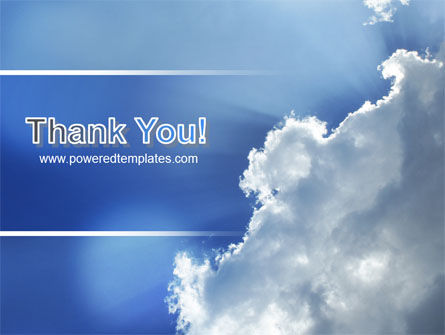 Sunshine Through Clouds PowerPoint Template Slide 20