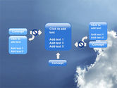 Sunshine Through Clouds PowerPoint Template#13