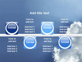 Sunshine Through Clouds PowerPoint Template#19