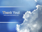 Sunshine Through Clouds PowerPoint Template#20
