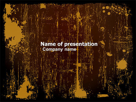 Abstract/Textures: Old Texture PowerPoint Template #05176