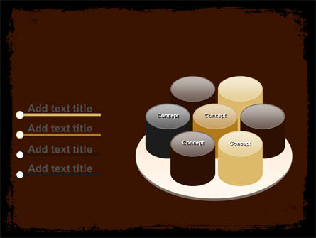 Old Texture PowerPoint Template Slide 12