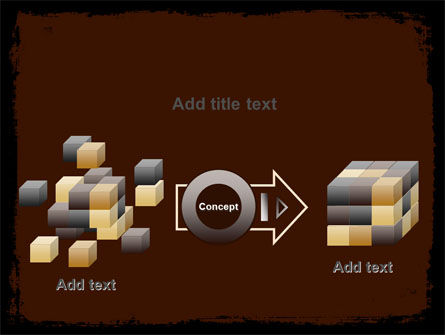 Old Texture PowerPoint Template Slide 17