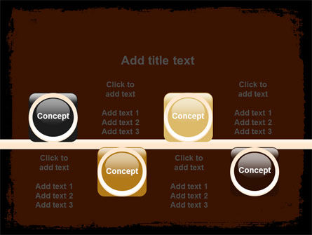 Old Texture PowerPoint Template Slide 18