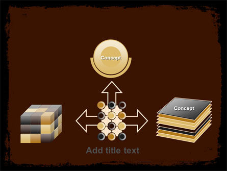 Old Texture PowerPoint Template Slide 19