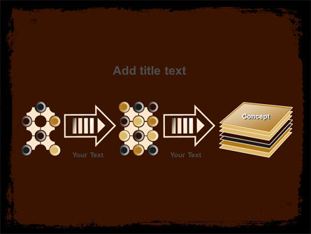 Old Texture PowerPoint Template Slide 9