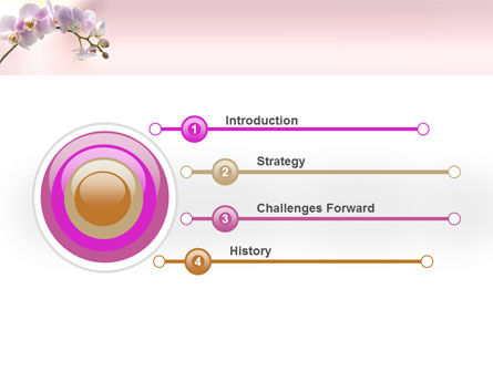 Orchid PowerPoint Template Slide 3