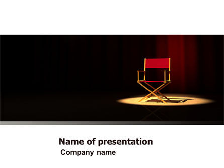 Art & Entertainment: Film Director PowerPoint Template #05179
