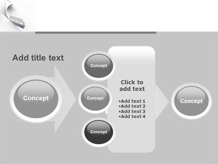 Razor Blade PowerPoint Template Slide 17