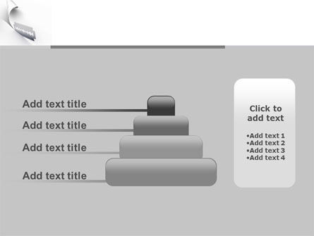 Razor Blade PowerPoint Template Slide 8