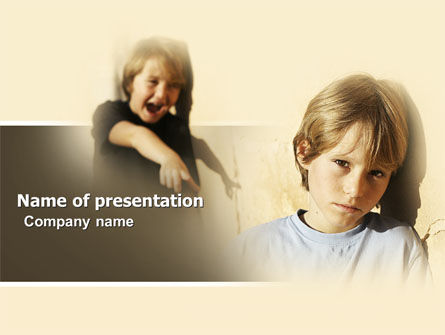 Bully powerpoint template backgrounds 05183 poweredtemplate bully powerpoint template 05183 education training poweredtemplate toneelgroepblik Images