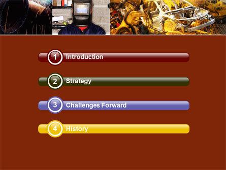 Welding PowerPoint Template, Slide 3, 05186, Careers/Industry — PoweredTemplate.com