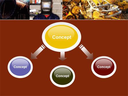Welding PowerPoint Template, Slide 4, 05186, Careers/Industry — PoweredTemplate.com