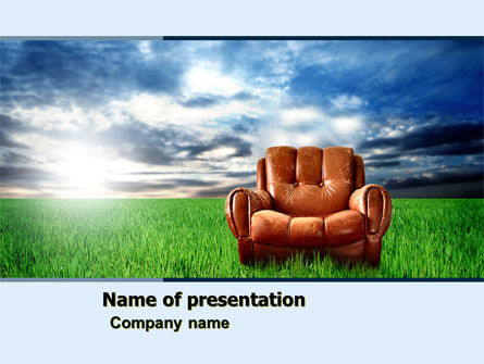 Business Concepts: Relaxation PowerPoint Template #05188