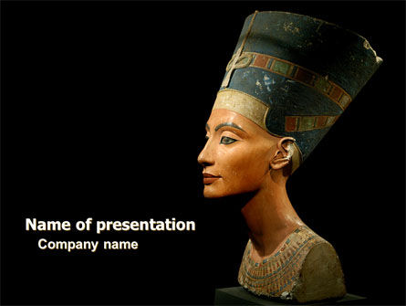 Nefertiti PowerPoint Template, 05189, Education & Training — PoweredTemplate.com