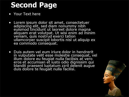 Nefertiti PowerPoint Template, Slide 2, 05189, Education & Training — PoweredTemplate.com