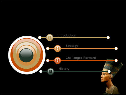 Nefertiti PowerPoint Template, Slide 3, 05189, Education & Training — PoweredTemplate.com
