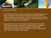 Duck PowerPoint Template#2