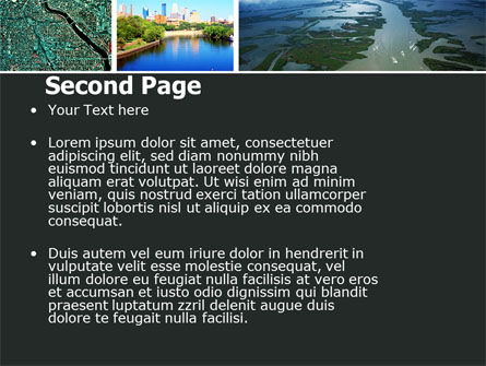 Mississippi River PowerPoint Template, Slide 2, 05191, America — PoweredTemplate.com