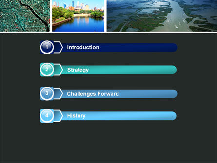 Mississippi River PowerPoint Template, Slide 3, 05191, America — PoweredTemplate.com