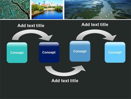 Mississippi River PowerPoint Template, Slide 4, 05191, America — PoweredTemplate.com