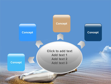 Bottle Mail PowerPoint Template Slide 7