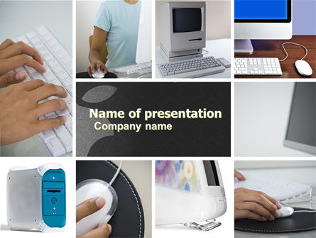 Technology and Science: Macintosh PowerPoint Template #05193