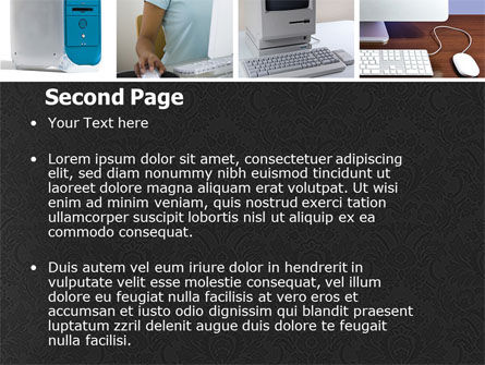 Macintosh PowerPoint Template, Slide 2, 05193, Technology and Science — PoweredTemplate.com