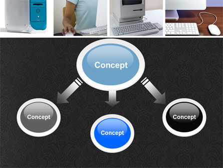 Macintosh PowerPoint Template, Slide 4, 05193, Technology and Science — PoweredTemplate.com