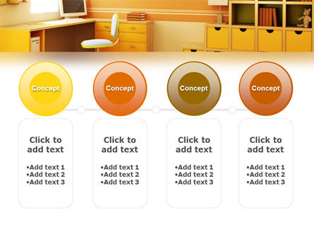 Kid's Room Free PowerPoint Template Slide 5