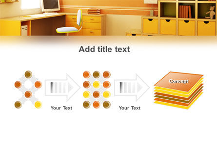Kid's Room Free PowerPoint Template Slide 9